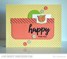 Birthday Bears, Blueprints 26 Die-namics, Brushstroke Birthday Greetings Die-namics, Hip Clips Die-namics, Sequins Die-namics - Teri Anderson  #mftstamps