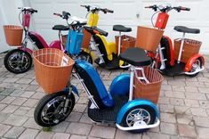 """When you want MORE than the average """"granny"""" style mobility scooter Granny Style, Scooters, Motorcycle, Luxury, Motor Scooters, Motorcycles, Vespas, Motorbikes, Mopeds"""