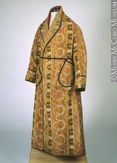 Robe de chambre Vers 1880, 19e siècle 135.5 cm Don de Mr. John B. Claxton M990.95.1 © Musée McCord