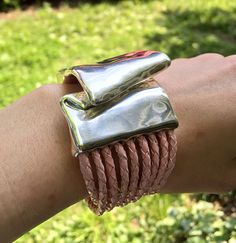 Wearable Art:  Bat-Ami Bracelets