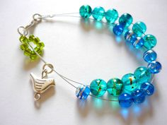 Row counter bracelet for knitting and by AbsoKnittingLutely, £18.00