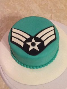 Another promotion cake in fondant. Q