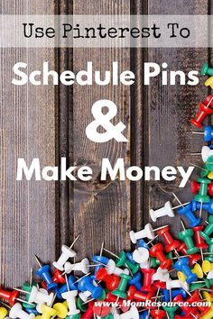 Discover how to schedule pins & the BEST pin scheduling tool for Pinterest. PIN & READ this post if you: want to learn about scheduling pins OR if you're a bloggers looking for more traffic OR if you're a social media influencer looking for solid products. www.momresource.com/pinterest-schedule-pins-earn