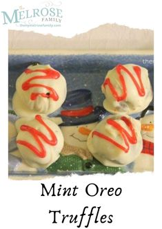We hope everyone is staying safe at home! Here's an easy recipe we would like to share with everyone. Mint Oreo Truffles 😊is a no-bake, delectable dessert perfect for every day or a special occasion made with only 3 ingredients. Easy No Bake Desserts, Delicious Desserts, Frozen Desserts, Frozen Treats, Top Recipes, Sweets Recipes, Amazing Recipes, Cupcake Recipes, Cookie Recipes