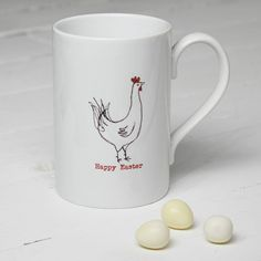 Personalised Easter Chicken Mug