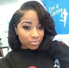 Gorgeous Hair Makeup On Toya