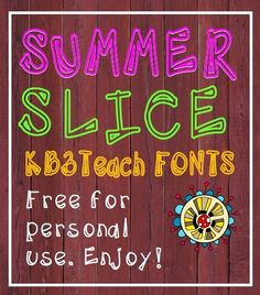 FONTS: Free for personal use. (Commercial license available.)