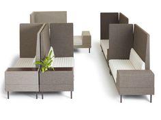 Canapé modulable avec porte-revues intégré SMALLROOM PLUS by Offecct design Ineke Hans