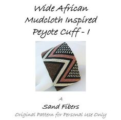 3 for 2 Program  Wide African Mudcloth Inspired par SandFibers