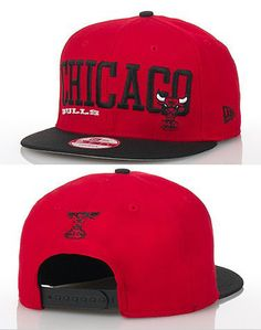 Bulls Adjustable Caps Red Black White Snapback Cap Sale f2378a1b71c