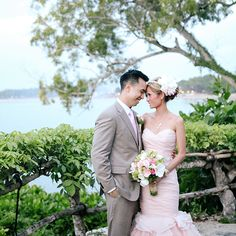Four Seasons Resort Bali at Jimbaran Bay brought Michelle and Danh a breathtaking outdoor wedding in a modern rustic setting with handcrafted details. Luxury Wedding, Destination Wedding, Jimbaran, Tropical Garden, Four Seasons, Modern Rustic, Newlyweds, Garden Wedding, Pretty In Pink