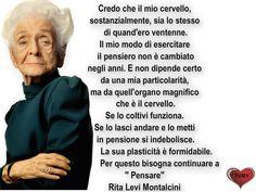 Rita Levi Montalcini #Frasi