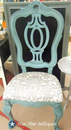 What a pretty little chair! Chalk Paint® decorative paint by Annie Sloan Provence Decor, Furniture Restoration, Redo Furniture, Painted Furniture, Refinishing Furniture, Chalk Paint Chairs, Furniture Making, Furniture Inspiration, Annie Sloan Painted Furniture