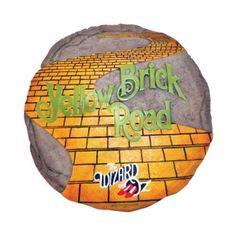 Wizard of Oz Yellow Brick Road Decorative Stepping Stone   Make a yellow brick road