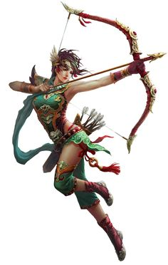 Female Archer from Conquer Online
