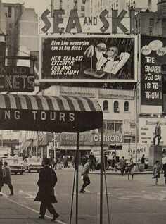 Times Square 1960's #NYC #Broadway