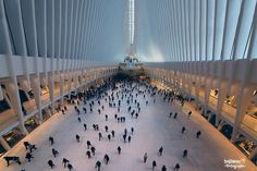 World Trade Center Transportation Hub New York City and architecture photo by highway13Photography http://rarme.com/?F9gZi