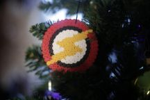 Bügelperlen Iron Beads Flash Christmas Ornaments, Holiday Decor, Art, Christmas Tree, Christmas, Schmuck, Art Background, Christmas Jewelry, Kunst