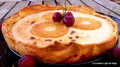 Tarta Ligera de Piña y Requesón ~ Recetas Faciles Reunidas
