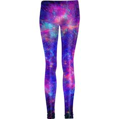 Purple Nebula Leggings, 26€, now featured on Fab.