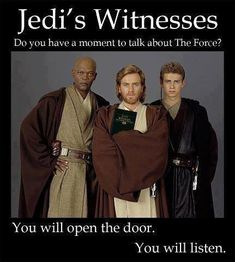 """Star Wars humor.""