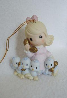 Precious Moments * Ringing In The Season * Ornament Enesco Figurine 456012