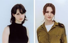 Evgenya, 2003 by Rineke Dijkstra-- before and after the Israeli military service