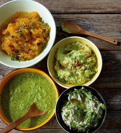 Avocado-Dip Rezept - [ESSEN UND TRINKEN] Vegetable Dishes, Vegetable Recipes, Clean Eating, Breakfast Snacks, Chutneys, Dip Recipes, Dips, Guacamole, Brunch