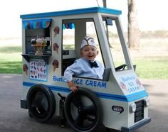 18 Brilliant Halloween Costumes for Kids and Their Wheelchairs