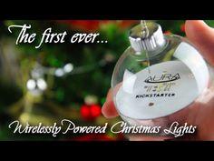Wirelessly Powered Christmas Lights | Boule de Noël Connectée Sans Fils Pour illuminer Son Sapin