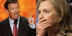 JUST IN: Hillary Clinton Will Be in Jail by TOMORROW if Rand Paul Is Right!