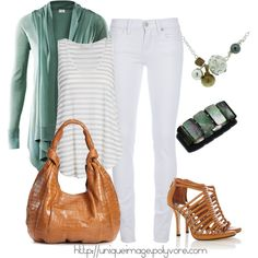 Mint Green, created by uniqueimage on Polyvore