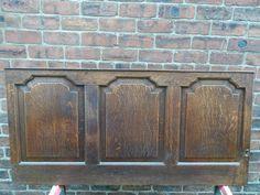 Georian  Oak panel  useful as shutter or headboard