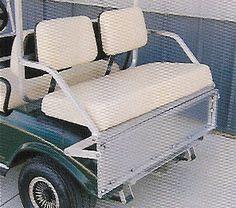Fold FootRest Kit Greg Timco Golf Cart Rear Seat