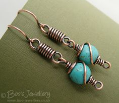 Wire Jewelry Making Starter Kit our Jewellery Stores Kingston enough Jewellery Shops Erina Fair till Jewellery Trends 2019 Wire Jewelry Earrings, Wire Wrapped Earrings, Copper Jewelry, Earrings Handmade, Beaded Jewelry, Handmade Jewelry, Copper Wire, Wire Jewelry Designs, Jewelry Patterns