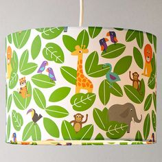 Buy little home at John Lewis Animal Fun Jungle Lampshade from our Ceiling & Lamp Shades range at John Lewis. Free Delivery on orders over