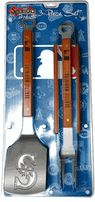 MLB - Seattle Mariners 3-Piece BBQ and Grill Tool Set $52