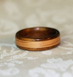 I never considered a wood ring before.