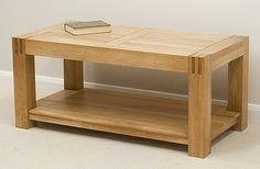 Alto Solid Oak Coffee Table £199