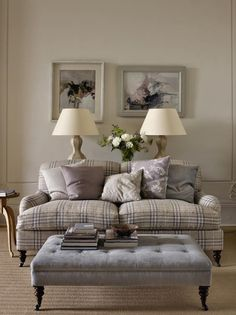 Colefax and Fowler fabrics. My newest obsession. I need an armchair covered in this check.
