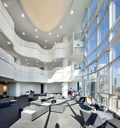 Healthcare Design Peter Gilgan Centre for Research and Learning at the Hospital for Sick Children in Toronto. #healthcare