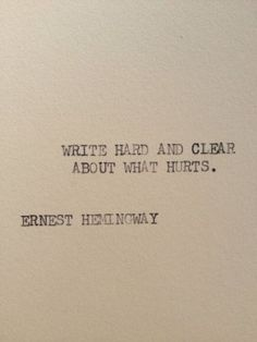 Inspiring Quotes About Life : Ernest Hemingway. - Hall Of Quotes Song Lyric Quotes, Poem Quotes, Words Quotes, Wise Words, Life Quotes, Friend Quotes, Crush Quotes, Movie Quotes, Writing Quotes Inspirational