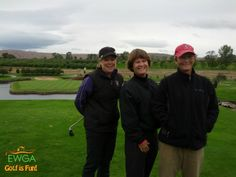 Submitted by Ronna R, From EWGA Spokane, WA. Apple Tree Resort with Kathy Anderson (Seattle), Mollie Thola (Spokane) and Carolyn Swanson (Seattle)