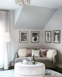 Tip 7 for a #glamour and #peaceful #bedroom: create a #boudoir (like you would…