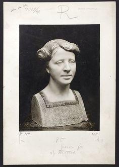 Muzeum Cyfrowe dMuseion - Portret, rzeźba ceramiczna Stanisława Jagmina (1875-1961) prezentowana na Salonie TZSP w Warszawie w 1914
