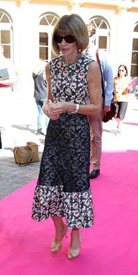 Anna Wintour wearing Balenciaga