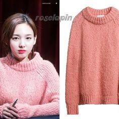 Nayeon 161211: Bimba Y Lola wool sweater £170    #Nayeon #Twice #ImNayeon #나연 #임나연 #트와이스 #bimbaylola #wool #sweater  #kpop #kpopfashion #fashion #koreanfashion #koreanstyle #style #kstyle #패션 #스타일 #니트 #오오티디 #패션스타그램  #roselapin_twice #roselapin_nayeon