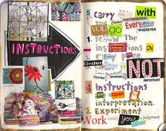 Wreck This Journal - Instructions