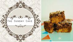 1/2 torradinha e um pingo: The Sunday Cake - Brownies de Manteiga de Amendoim...