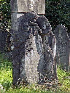 Hampstead Cemetery Weeping Woman by icb2011, via Flickr